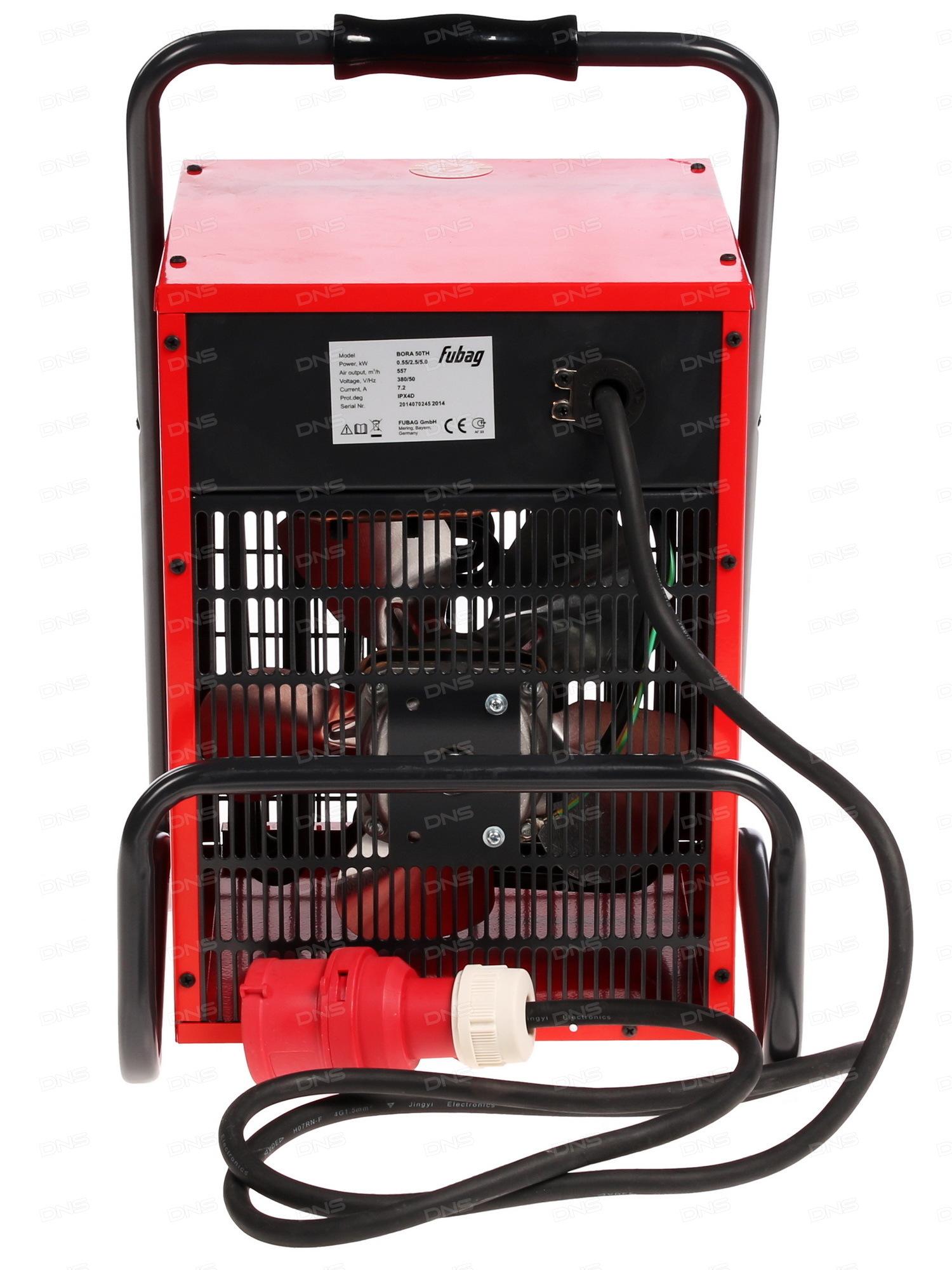 Тепловая электрическая пушка на 380в.  цена от 8000р