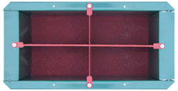 Оснастка формы для бордюрного камня 190х95х190 мм