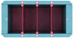 Оснастка формы для полнотелого блока 97х190х190 мм