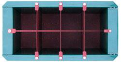 Оснастка формы для полнотелого блока        97х95х190 мм