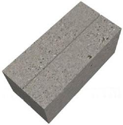 Готовый бордюрный камень 390х95х190 мм