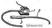 Конструкция глубинного электромеханического вибратора в сборе