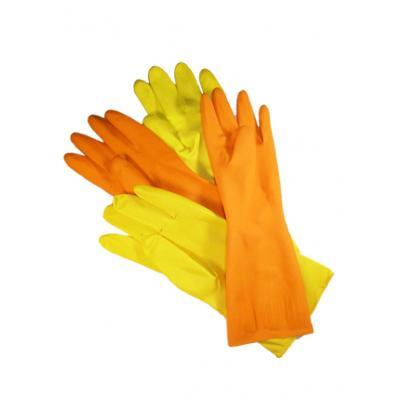 Перчатки ХОЗЯЙСТВЕННЫЕ латексные L (12пар/уп)