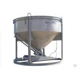 Бадья для бетона БН-2.0 (лоток)