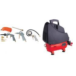 Воздушный компрессор Fubag SERVICE MASTER KIT + набор из 6 предметов