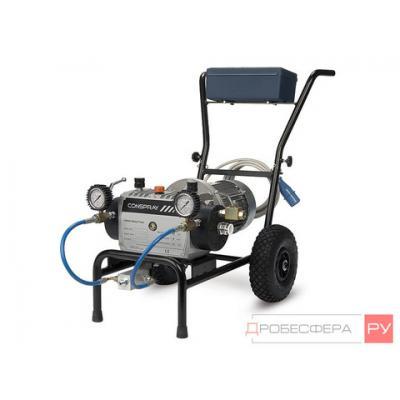 Безвоздушный окрасочный аппарат EVOX-2200 DH 380V