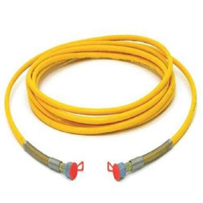 Рукав PPH-2 VE 75 d=10 L=0,50м 3/8 260 Bar, желтый