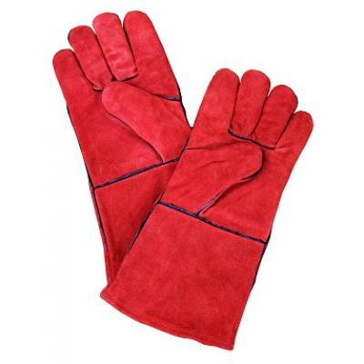 Перчатки пескоструйщика, красные