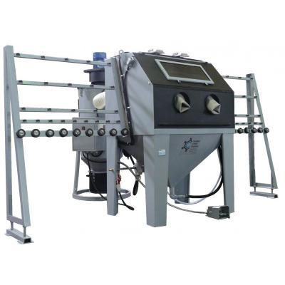 Пескоструйная камера КСО-110-И-С-ФВ-М  для обработки стекла