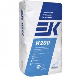 EK K200 финишная гипсовая шпатлевка 20кг белая (40)