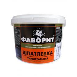 Шпатлевка универсальная ВДАК-0014 белая (по 3 кг) Фаворит