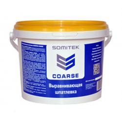 Шпатлевка готовая полимерная на водной основе Выравнивающая (толщина слоя 6мм) COARSE SOMITEK (25кг)