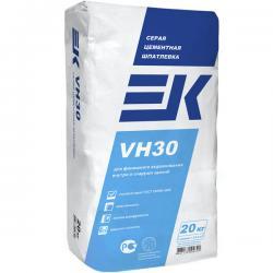 Шпатлевка цементная серая EK VH30 20кг (50)