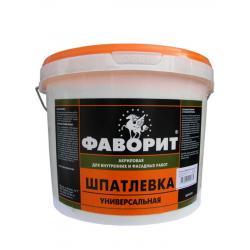 Шпатлевка универсальная ВДАК-0014 белая (по 9 кг) Фаворит
