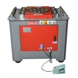 Станок  для гибки арматуры GW-40  Vektor с электронным блоком управления