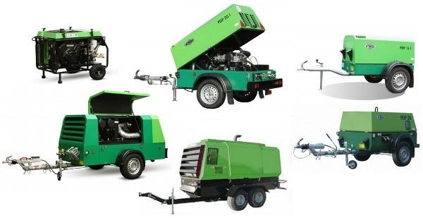 Продажа и поставка винтовых дизельных компрессоров