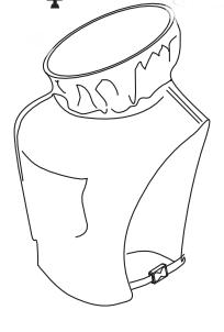 Пелерина в сборе с кольцом для шлема Comfort